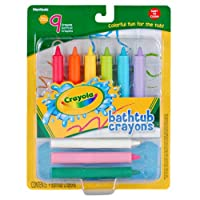 Crayola 9 Count Bathtubクレヨン