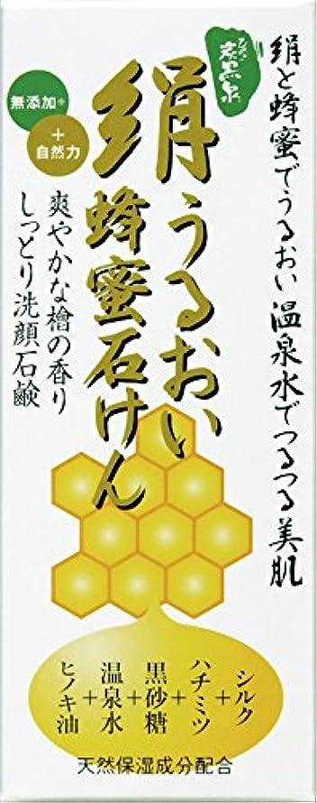 ブラスト区別アクセス絹うるおい蜂蜜石けん225g