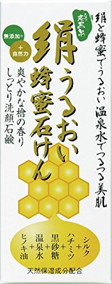 隠円形論理的絹うるおい蜂蜜石けん225g