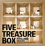 FTIsland 4集 - Five Treasure Box (韓国盤)