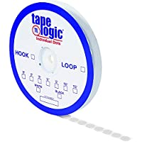 Tape Logic Individual Tape Dots Hook 1 3/8 White (Pack of 600) [並行輸入品]