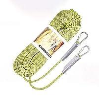 ロープ(張り綱) クライミングロープリフティングロープアウトドアセーフティロープキャンプ/ロッククライミング/登山/ロードリーディング/ダイビング耐摩耗性8 / 10.5 /直径12mm長さ10/15/20/30/40/50/60/70/80/90 / 100m 黄 (サイズ さいず : 8mm 30m)