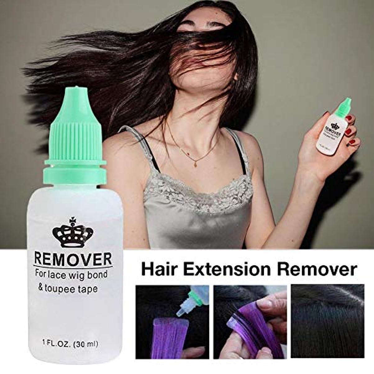 からに変化する仮定姪毛のりの除去剤、レースのかつらのToupeeの皮のよこ糸のテープのための極度の毛の付着力の除去剤の接着剤の除去剤のびん