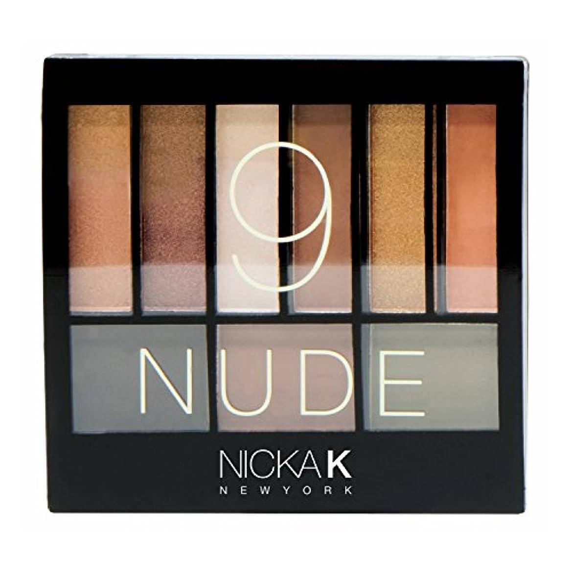 とティーム履歴書五月NICKA K Perfect 9 Nude Eyeshadow Palette Set (並行輸入品)
