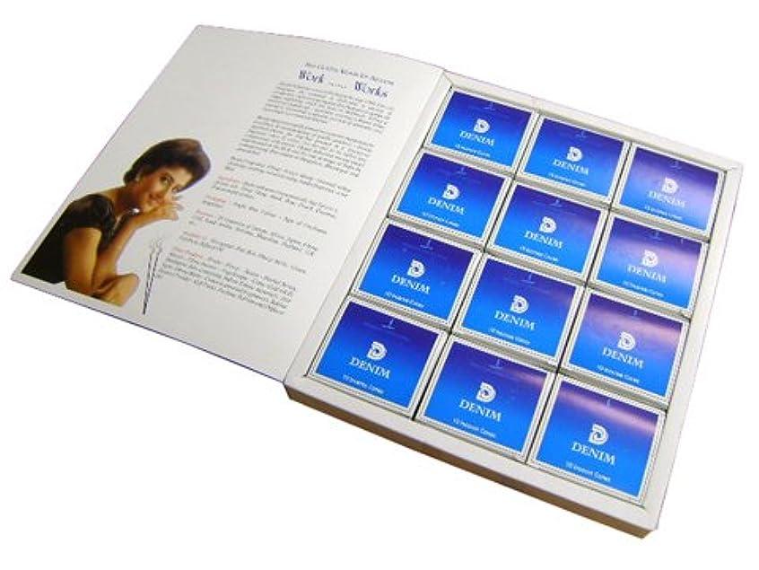 ボタンお茶ケージSHASHI(シャシ) デニム香 コーンタイプ DENIM CORN 12箱セット