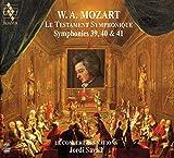 ~交響曲による遺言~ モーツァルト : 交響曲第39, 40 & 41番 / ジョルディ・サヴァール | ル・コンセール・デ・ナシオン (Le testament symphonique ~ Mozart: Symphonies 39, 40 & 41 / Jordi Ssavall, Le Concert des nations) [2SACD Hybrid] [Import] [日本語帯・解説付]