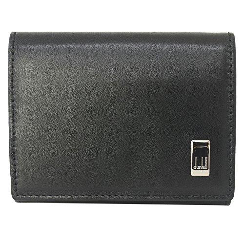 [ダンヒル] DUNHILL ダンヒル ボックス型 小銭入れ コインケース QD8000A サイドカー レザー BLACK ブラック 黒 かぶせ蓋 無地 [並行輸入品]