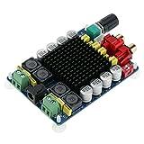 KKmoon クラスD 2 * 100W パワーアンプボード デュアルチャンネル オーディオステレオデジタルパワーアンプボードDC 15-34V