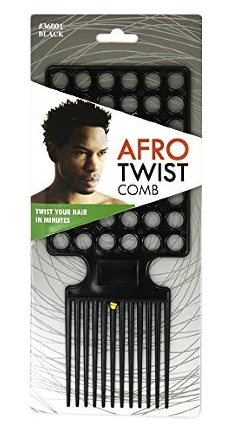 高層ビル父方のハードウェアAfro Twist Comb Black twist your hair in minutes [並行輸入品]