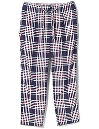 (ビームス)BEAMS/カジュアルパンツ/チェック ルーズ テーパード パンツ メンズ