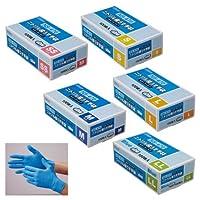 ニトリル極うす手袋 NS-470 ニトリルゴクウステブクロNS470 06451(L)ブルー100マイイリ(24-2571-03)【20箱単位】
