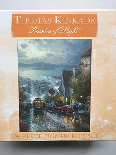 Thomas Kinkade PaniterのライトHyde Street &ベイ、サンフランシスコの300ピースジグソーパズル