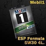 モービル1 Mobil1 エンジンオイル Mobil モービル ESP Formula 5W-30/5W30 4L缶(4リットル缶) 6本セット