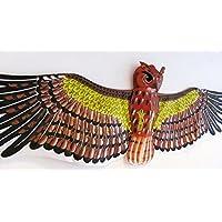 濰坊凧:3D フクロウ凧 観賞やコレクター、凧を揚げること、贈り物にピッタリです , 伝統凧