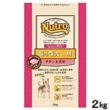 ニュートロ ナチュラルチョイス 超小型犬用4Kg以下用 エイジングケア チキン&玄米 2Kg
