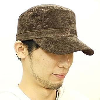 (ベーシックエンチ) BASIQUENTI Corduroy Solid Work Cap [medium brown] コーデュロイソリッドワークキャップ 帽子 シンプル 無地 ビッグサイズ 大きい 大き目サイズ 通販 オシャレ アウトドア ワークスタイル 定番 Mサイズ(約57-59cm) ブラウン