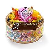 キャラデコお祝いケーキHUGっと!プリキュア 5号 15cm チョコクリームショートケーキ
