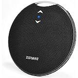 Bluetooth スピーカー、ZENBRE Craft IPX7防水 /Bluetooth 4.2 /マグネット搭載/高音質 【约20h連続再生、7Wドライバー、ワイヤレス、低音強化、マイク搭載、AUX線、長時間連続再生】 (ブラック)