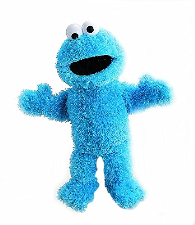 Gund Cookie Monster Hand Puppet セサミストリート クッキーモンスター ハンドパペット 約 36.8㎝ [並行輸入品]