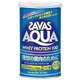 飲みやすくて美味しい!これが次世代プロテイン! SAVAS(ザバス) アクアホエイプロテイン100 360g