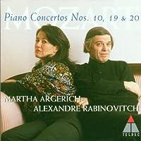 Mozart: Piano Concertos nos 10, 19 & 20 / Rabinovitch, Argerich