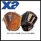 ザナックス 硬式 グローブ グラブ ザナパワー 外野手用 BHG-7217 ブラック×タン(9027) R(右投用)
