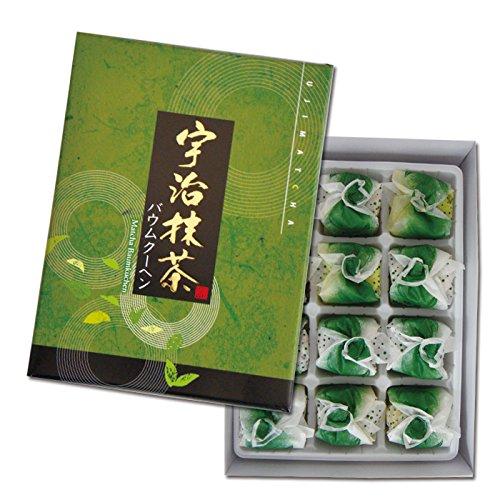 宇治抹茶バウムクーヘン 12個入
