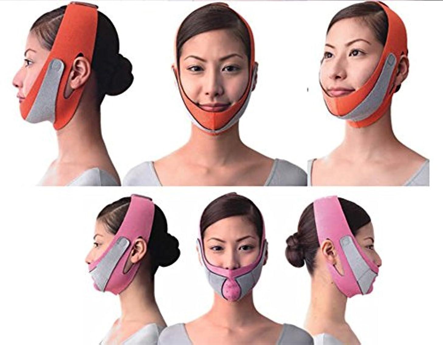 通路アーティキュレーションブラウズ引き上げマスク 頬のたるみ 額、顎下、頬リフトアップ ピンク グレー 弾力V-ラインマスク 引っ張る リフティング フェイス リフトスリムマスク 美容 フェイスマスク