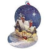 UP WITH PAPER 【クリスマス】 ポップアップ オーナメントカード クリスマス コテージ S012