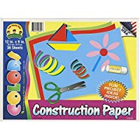 Darice 36-Sheet Construction Paper Pad 12 by 9 【You&Me】 [並行輸入品]