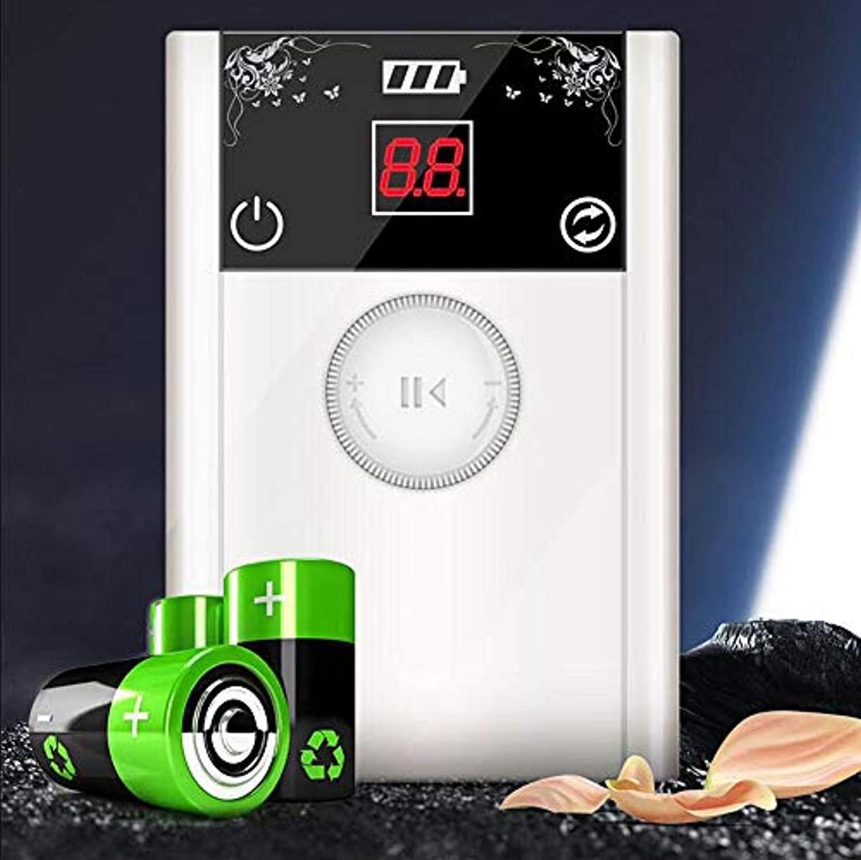 マントル年齢候補者ポータブル新しい到着40000 rpmネイルドリルマニキュア機ブラシレス強力な80ワットネイルアートツールポーランド電気ネイルドリルファイル,White