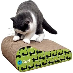 猫 爪とぎ iCat アイキャット オリジナル つめとぎ キャットウォーク 段ボール 爪 ネイル 爪磨き 猫用つめとぎ 猫のつめとぎ スクラッチャー キャットスクラッチャー ダンボールポール 麻 icat i dog