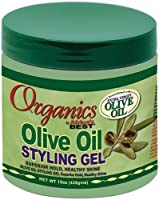 Africas Best Orig Olive Oil Styling Gel 15 Ounce Jar (443ml)