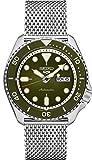セイコー メンズ自動巻き腕時計 ステンレススチールベルト シルバー 22 (モデル:SRPD75)