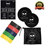 OTW Fitness Core Sliders and Resistance Bands :: 2 Double-Sided Core Sliders, 5 Resistance Bands, Carry Bag, and Free PDF of Exercises - The Best Way to Get Toned Abs from The Comfort of Your Home