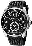 Cartier メンズ W7100056 アナログディスプレイ スイス オートマチック ブラックウォッチ