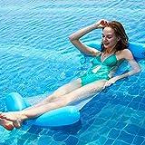 携帯用二重あと振れ止めの膨脹可能なハンモック、極度の浮力の大人水ハンモックのプールの浮遊物のプール浮遊プールの浮遊物夏のプールいかだのラウンジ水浮遊ベッド