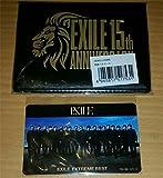 EXILE 15th アルバム 特典 パスケース ICカードステッカー