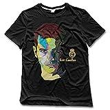 New Balance コート Nubiaメンズ# 1サッカーゴールキーパーFunny Tシャツブラック