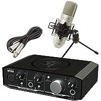 Mackie USBオーディオインターフェイス Onyx Artist 1・2 + TASCAM コンデンサーマイク TM-80セット