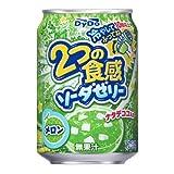 ダイドー 2つの食感ソーダゼリー メロン 280g×24缶