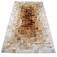 カーペット敷物ヴィンテージ牛革古典的な高級アート環境保護アートリビングルームのベッドルームマット (Size : 1.6 * 2.3m, Style : D)