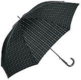 (ムーンバット)MOONBAT(ムーンバット) (ミズノ)MIZUNO 紳士ジャンプ式長傘(少し大きめ親骨70cm)耐風傘 格子柄