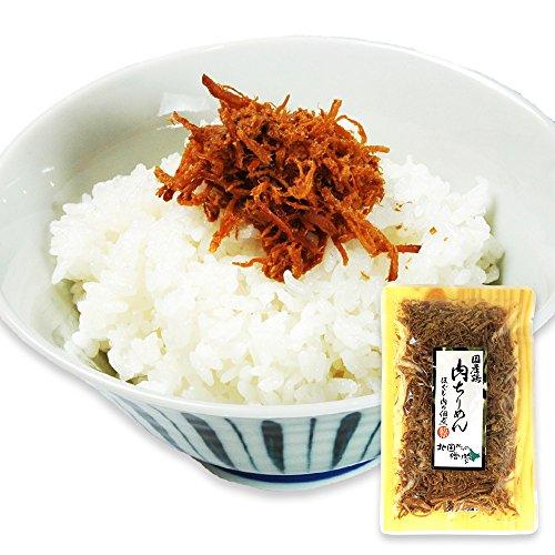 【Amazon.co.jp限定】ご飯のお供 茨城県産 肉 ちりめん 鶏肉 50g 国産つくば鶏 使用 単品 北国からの贈り物