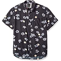 Quiksilver Mens Men's Variable Shirt Short Sleeve Dress Shirt
