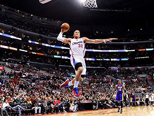 Blake Griffinロサンゼルス・クリッパーズバスケットボールLimited印刷フォトポスター11x 17# 2