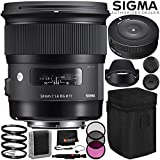 Sigma 24mm f / 1.4DG HSM Artレンズfor Nikon Fバンドルwithメーカーアクセサリー&アクセサリキット(23項目)