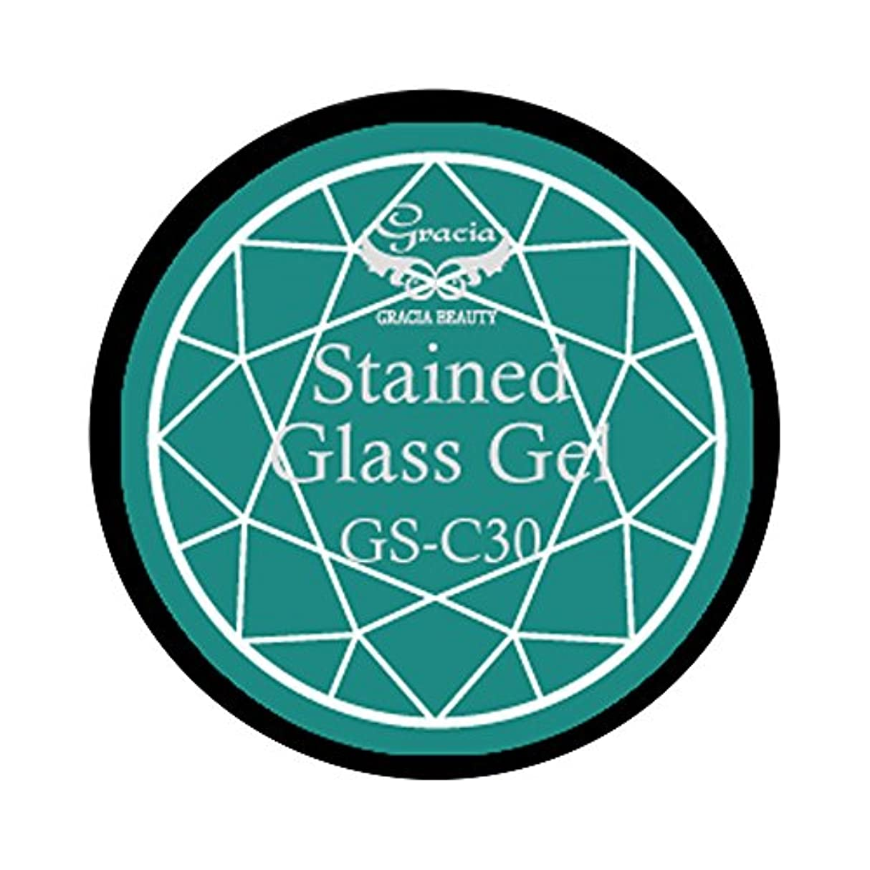 卒業記念アルバム卒業鎖グラシア ジェルネイル ステンドグラスジェル GSM-C30 3g  クリア UV/LED対応 カラージェル ソークオフジェル ガラスのような透明感