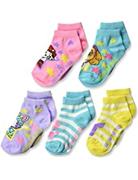 ニコロデオンLittle Girls Paw Patrol 5 Pack Shorty Sock