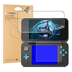 New ニンテンドー2DS LL液晶保護フィルム Arbalest New Nintendo 2DS LL 用 PET保護フィルム 99%高透過率 HD 高光沢 指紋防止 自己吸着 衝撃吸収 任天堂 Nintendo 2dsll 専用【上画面2枚入り+下画面2枚入り】